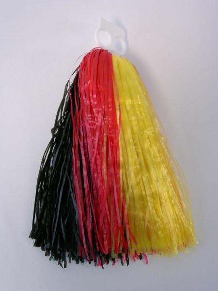 Tanzwedel Pom-Pon Cheerleader Nationalfarben 50g