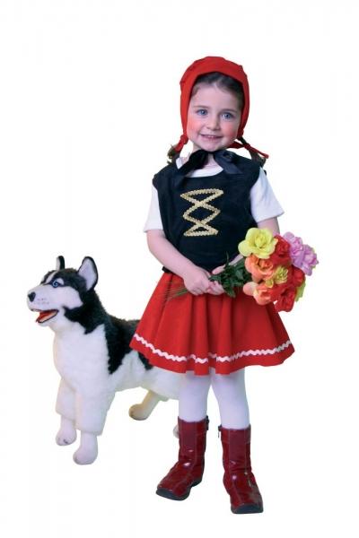 Fasching Kostüm Rotkäppchen für Kinder