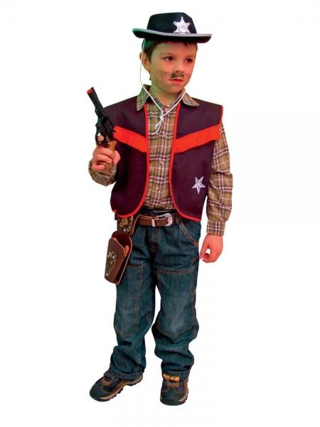 Faschingskostüm Cowboy - Weste