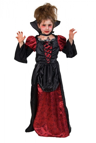 Kinderkostüm Vampir-Mädchen