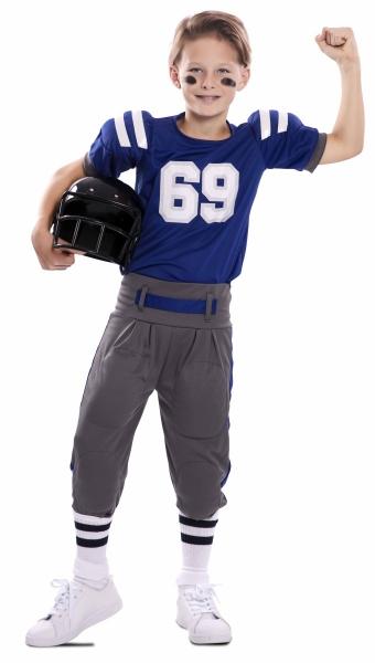 American Football Spieler Kinder-Kostüm