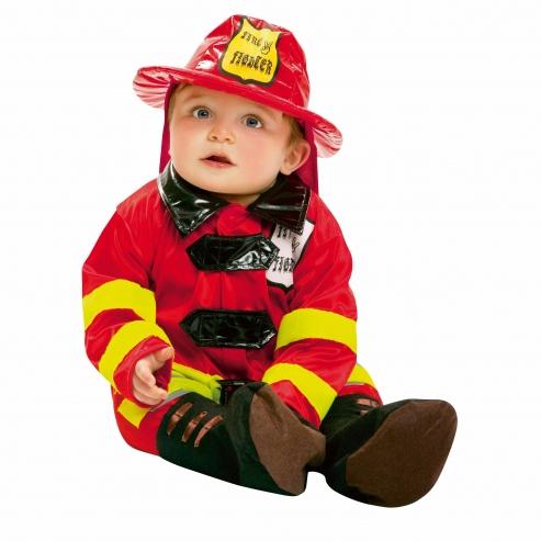 Baby Feuerwehrmann Kostüm