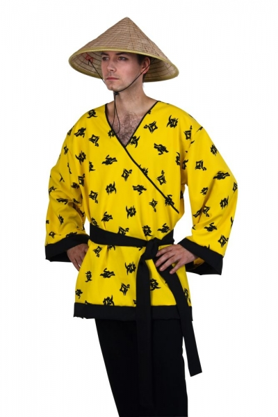 Kostüm Chinesen Oberteil unisex