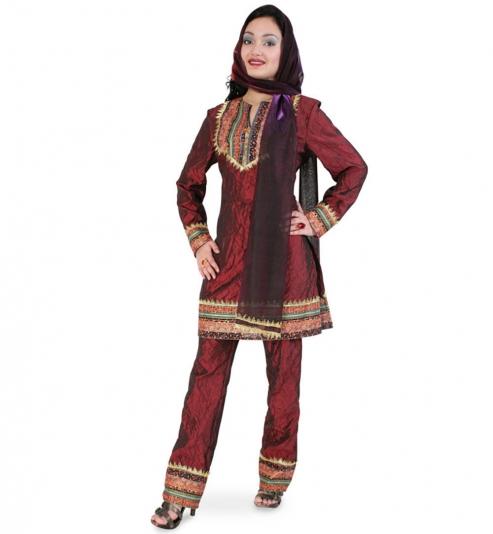 Deluxe Bollywood Inderin Mahima Prinzessin Faschingskostüm