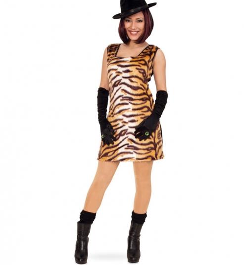 Tierkostüm Tiger Kleid