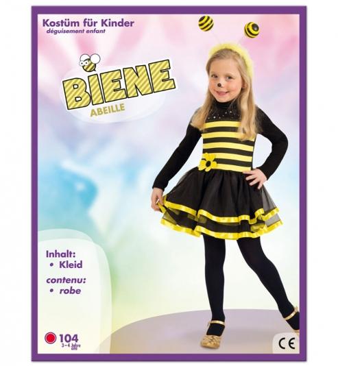 Biene  Kleid Tierkostüm Größe 104