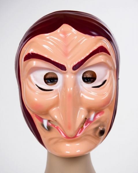 Gruselige Hexenmaske 02