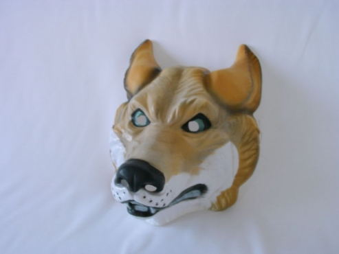 Tiermaske Wolf