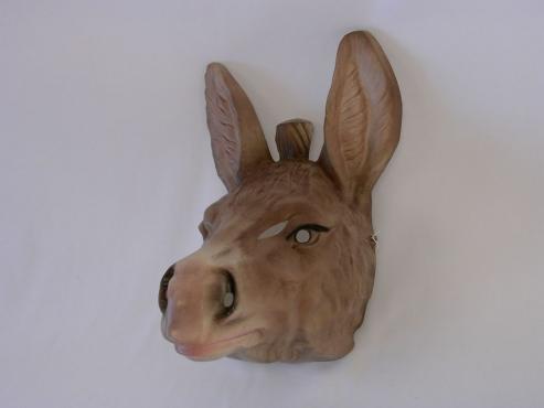 Tiermaske Esel