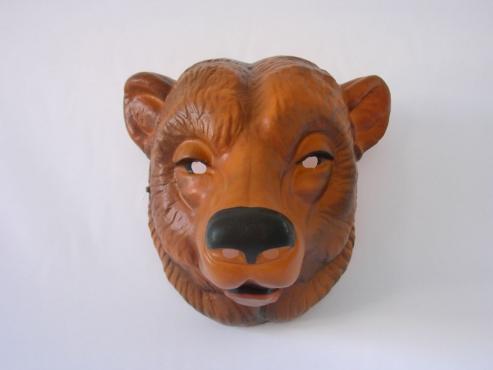 Tiermaske Bär