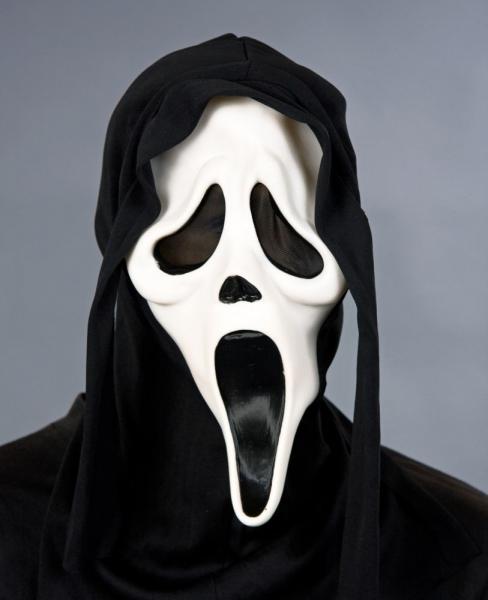 Phantom mit Kapuze Scream Maske