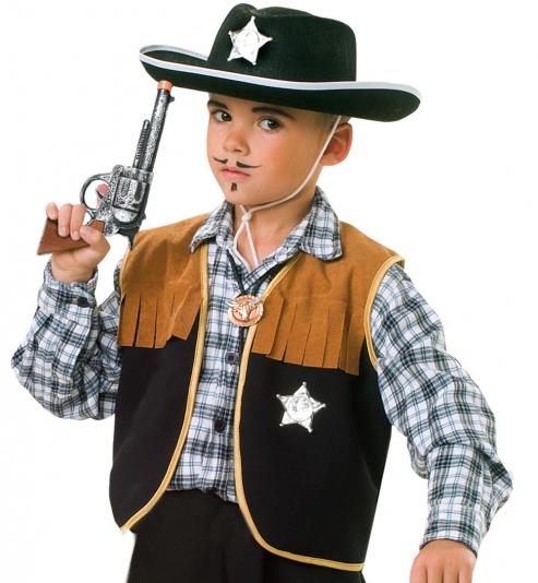 Cowboy Weste Sherrif für Kids