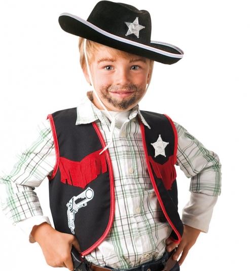 Cowboy Weste mit Sherrif Stern