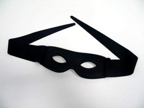 Augenmaske mit Bindeband