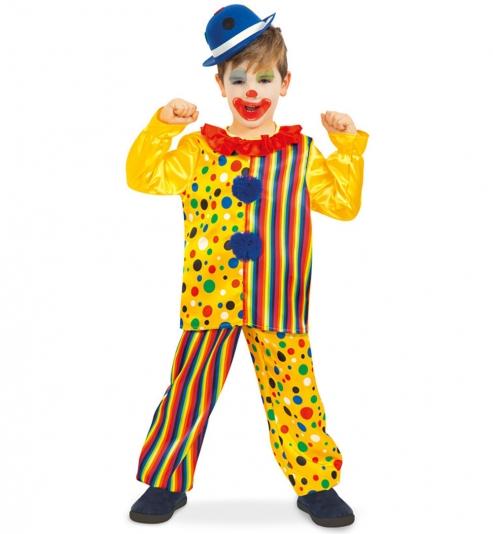 Clown Kostüm Oberteil + Hose