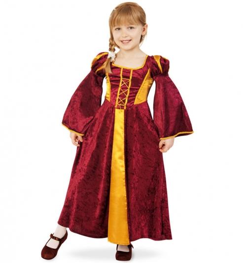 Burgfräulein Prinzessin Kleid Mia