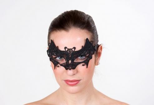 Augenmaske Fledermaus