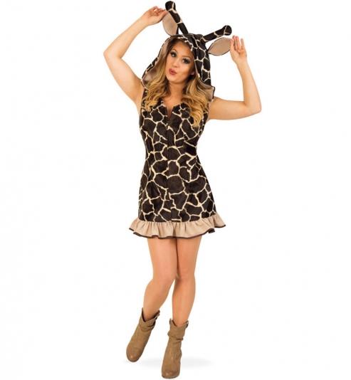 Giraffe Tierkostüm Hoodie mit Kapuze