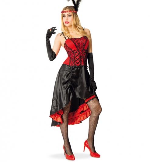 CanCan Kleid Tänzerin