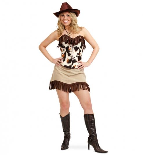 Cowboy Lady Corsage + Rock