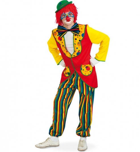 Clown Coco Clownanzug Jacke + Hose