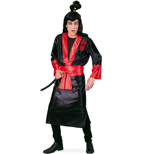 Samurai Shogun Krieger Kimono mit Gürtel