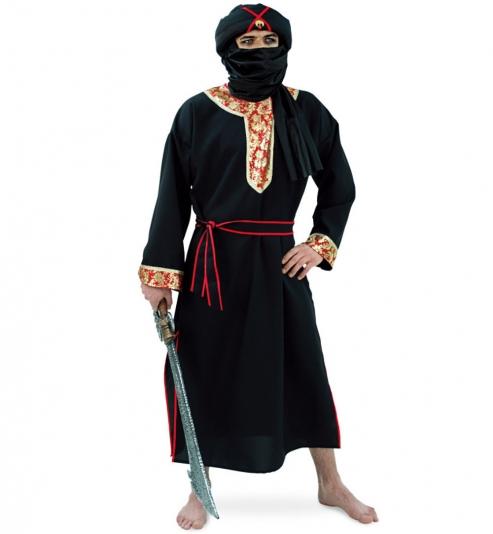 Herr der Wüste, Gewand mit Gürtel + Turban