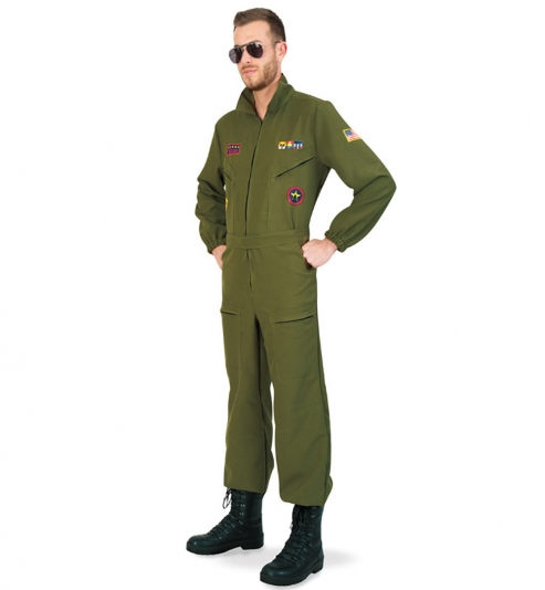 Kampfpilot, Overall mit Gürtelapplikation