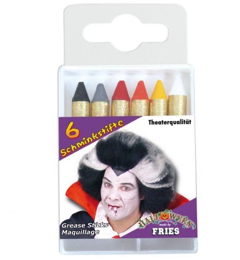 Schminkstifte Horror im 6er Pack