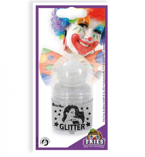 Glitter Roller silber, 30 ml SB