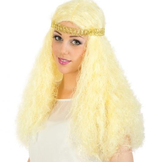 Perücke Engel mit Stirnband