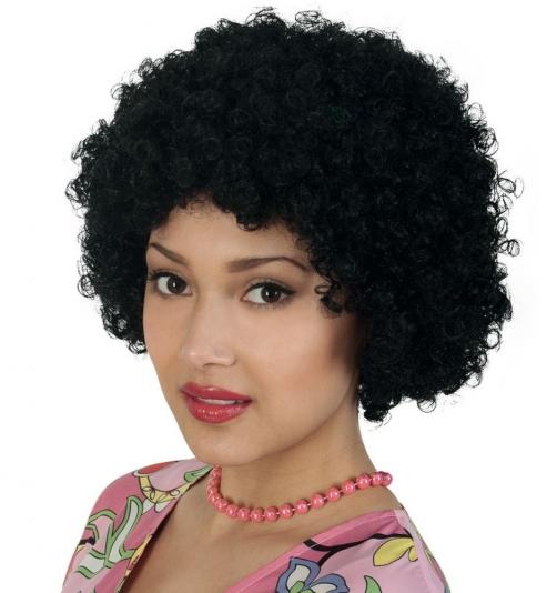 Perücke Hair schwarz PB