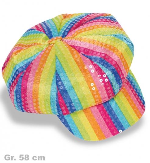 Ballonmütze Regenbogen