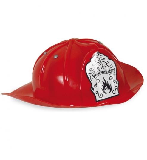 Feuerwehrhelm für Kinder rot