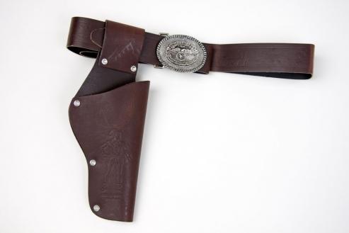 Coltgürtel Cowboygürtel braun
