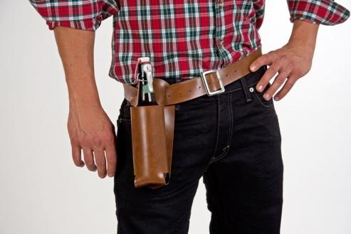 Coltgürtel für Bierflaschen