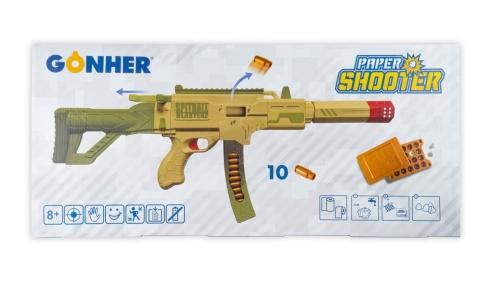 Paper Shooter SPITBALL mit Schalldämper