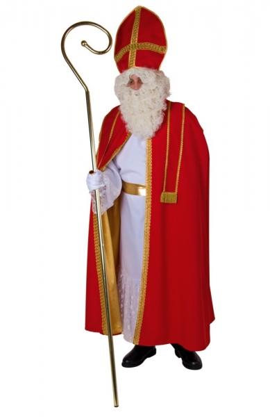Bischof bestehend aus Umhang, Kleid, Mitra Universalgröße