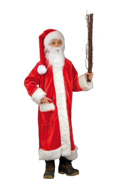 Nikolausmantel Weihnachtsmannkostüm für Kinder