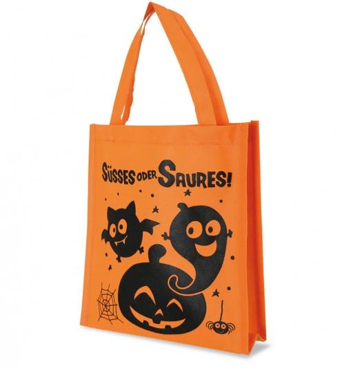 Tasche Halloween, Süßes oder Saures, ca. 24 x 22 x 5 cm