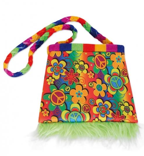 Hippie Tasche ca. 20 x 20 cm