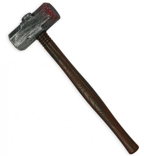 Hammer ca. 52cm lang aus Kunststoff