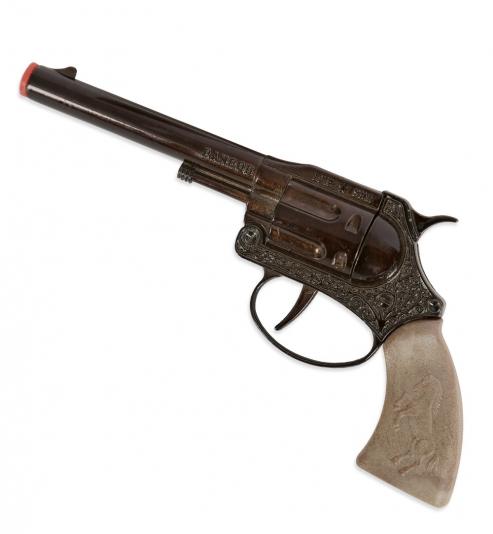 Revolver Ramrod, 100-Schuß, (100er-Band Munition) ca. 18 cm Länge