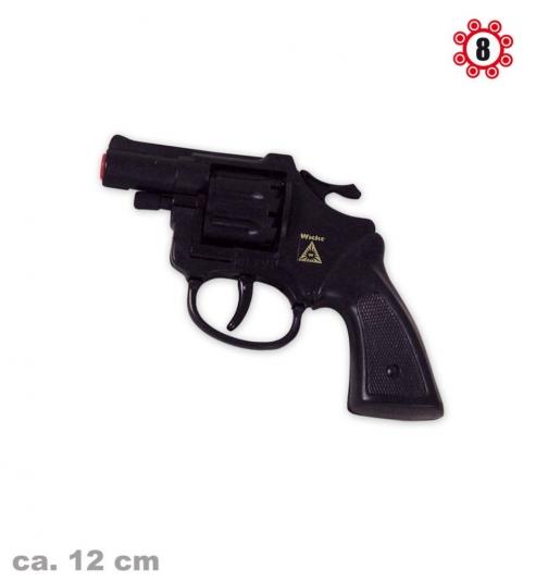 Pistole Revolver schwarz Olly