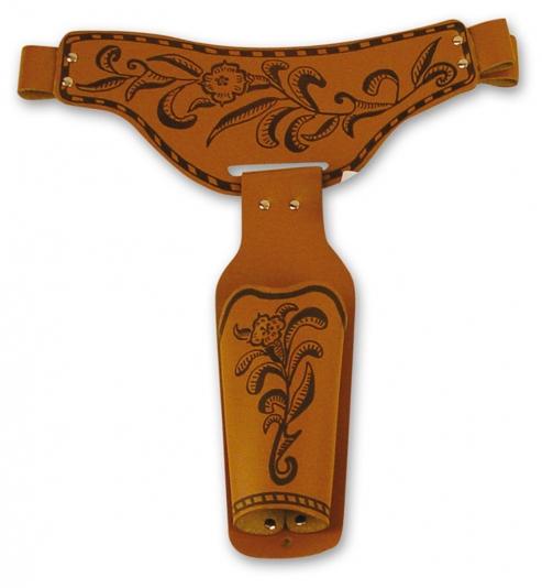 Brauner Cowboy Coltgürtel