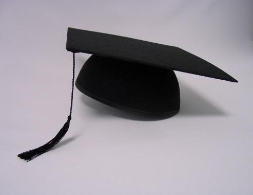 Doktorhut Studentenhut Bachelorhut schwarz