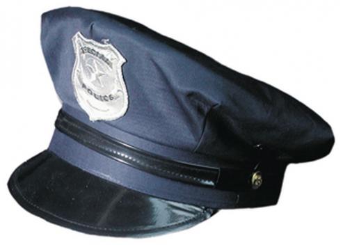 Amerikanische Polizeimütze