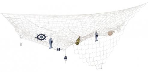Fischer Netz Dekorationsidee 300 x 300 cm