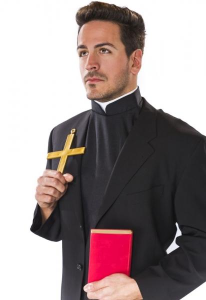 Priesterkragen mit Brustlatz