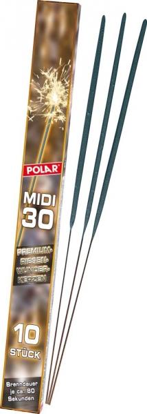 Premium Wunderkerzen 10er Pack - 30 cm